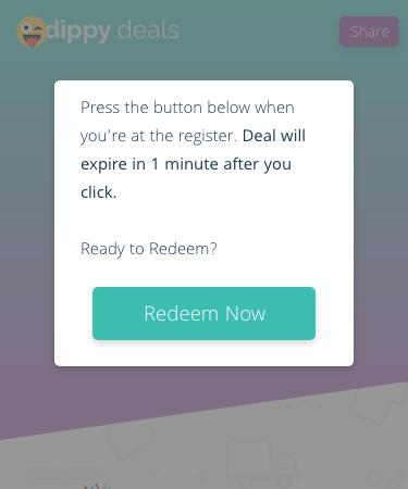 Redeem now display