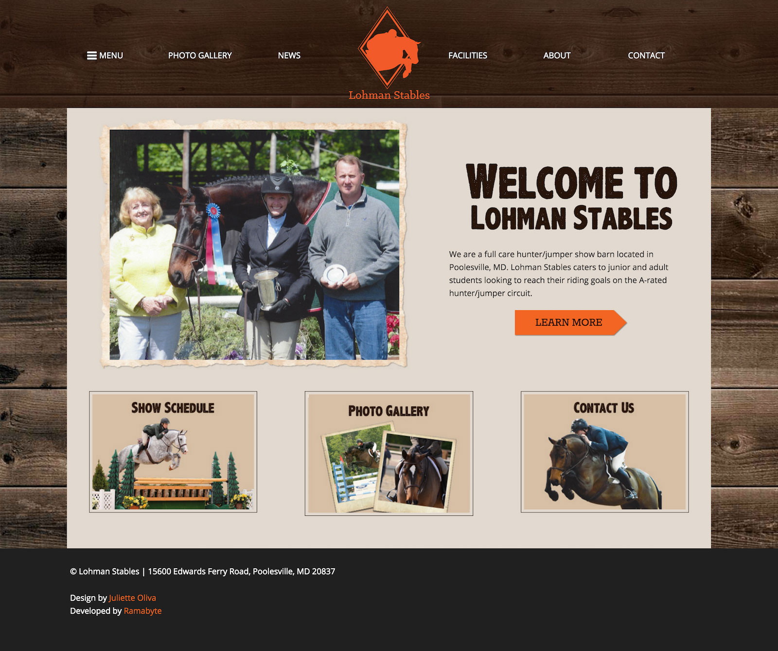 Lohman Stables - Homepage