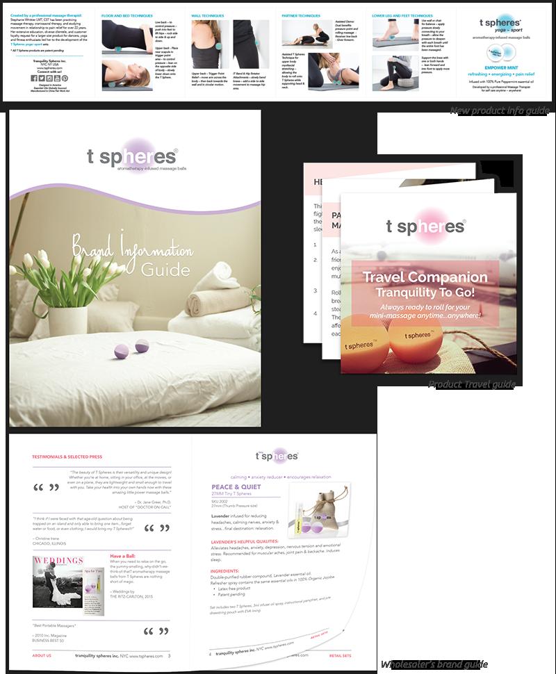 Tspheres, print designs