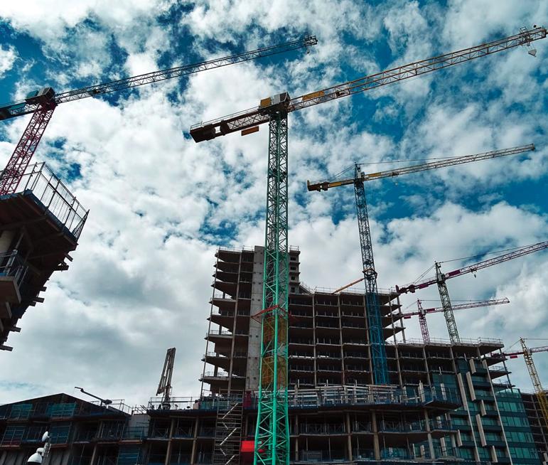 hospital construction site